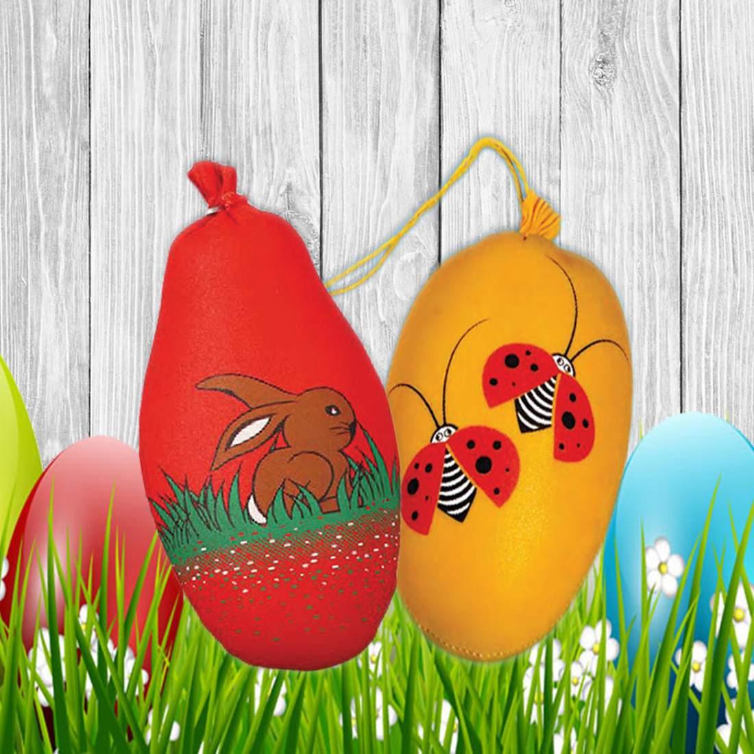Húsvéti Tojás-Textilbél