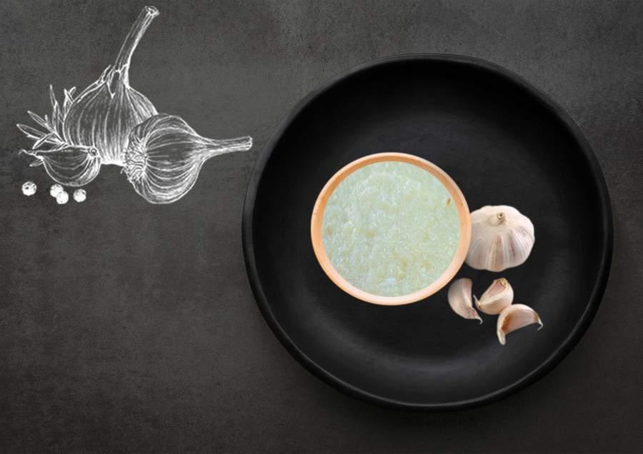 Frissen préselt fokhagyma sóval tartósítva 70% 10kg