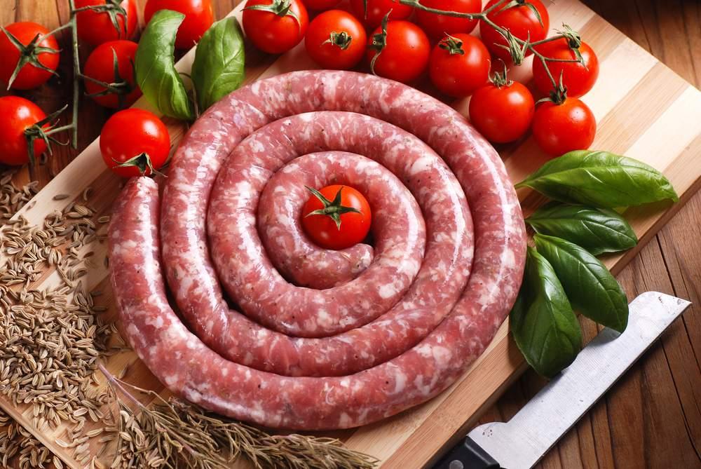 Zsiványpecsenye ízesítésű grillkolbász 1,3 kg